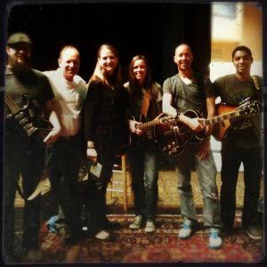 Chad, Kenny, Michelle, Jess, Me, Leo - Vine Band 1-29-12