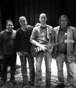 Stan, Kenny, HL, Bob Vine Band 1-15-12