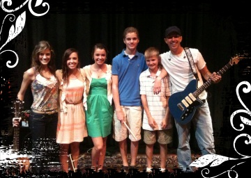 Elise, Rachel, Rebecca, Will, Colman, HL