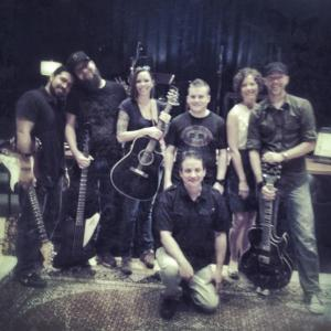 Jonathan, Chad, Jess, Stan, Corey, Nikki, HL