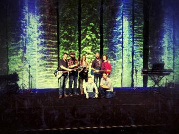 Jeff, Chad, Jess, Corey, HL, Nikki, & Stan