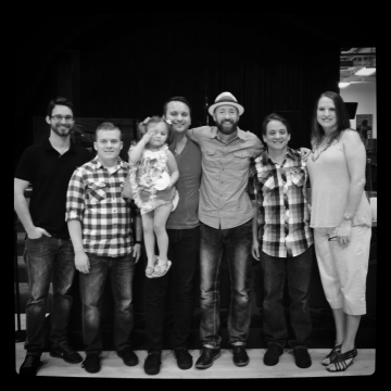 Trey, Corey, Zac (& daughter), HL, Stan, Michelle